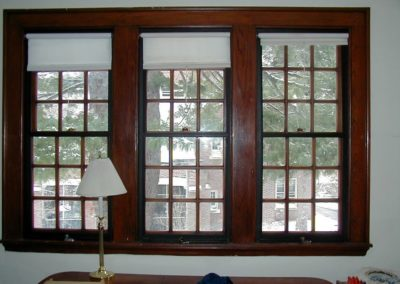 Innerglass Double Hung Interior Storms at West Point