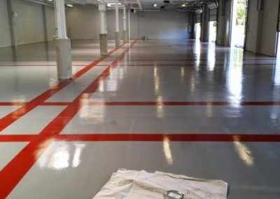 Scholar Export Epoxy Floor Installation 2