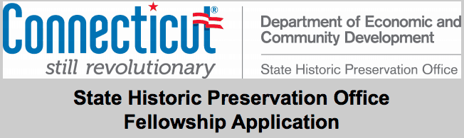 CT State Historic Preservation Office Fellowship Opportunity