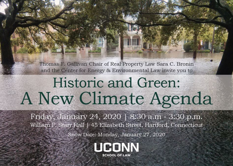 "Registration open for January conference on preservation and sustainability: ""Historic and Green: A New Climate Agenda""."